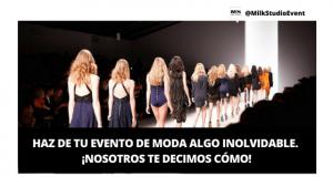 Cómo organizar un evento de moda